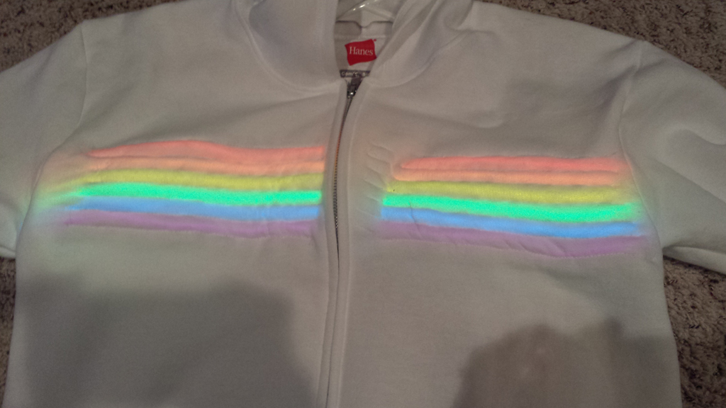 Judging Value with Electroluminescent Wire – Fashioning Circuits
