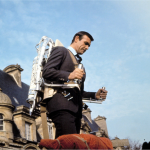 "Thunderball used the real life ""Bell Rocket Belt,"" a hydrogen peroxide powered jetpack."