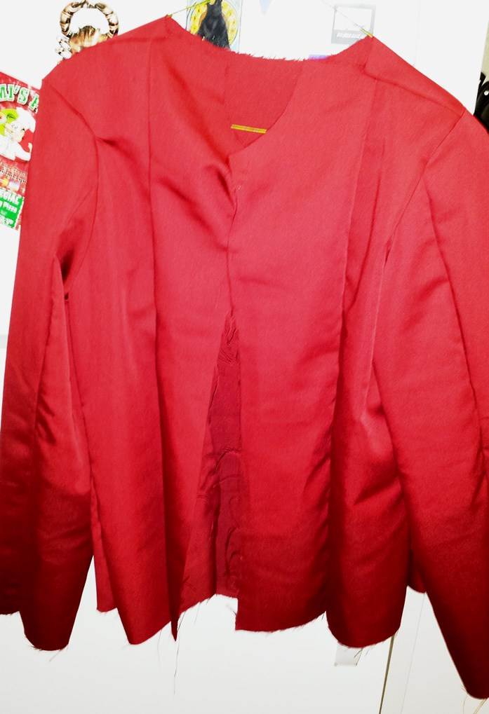 Star Lord Jacket - Sewing in progress